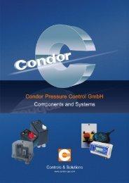 Electronic pump control ENP - Condor USA