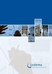Broschüre Bauplanung - Codema International GmbH