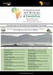 Investing in Ethiopia's Energy Future - EnerVest AG