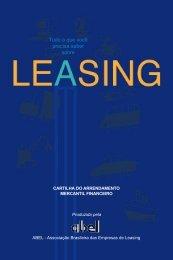Cartilha de Arrendamento Mercantil Financeiro - Leasing - AG Consult