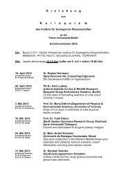 Einladung zum Kolloquium SS 2012 - Freie Universität Berlin