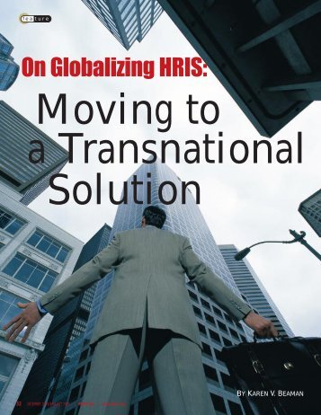 On Globalizing HRIS: - Jeitosa Group International