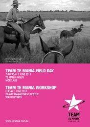 2011 Team Te Mania Workshop - Te Mania Angus