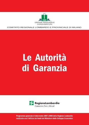 Autorità di garanzia