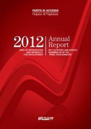 Annual Report 2012 - Organo di Vigilanza - Telecom Italia