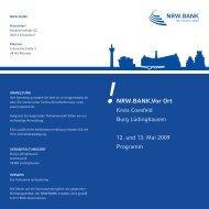 NRW.BANK.Vor Ort - wfc Wirtschaftsförderung Kreis Coesfeld GmbH
