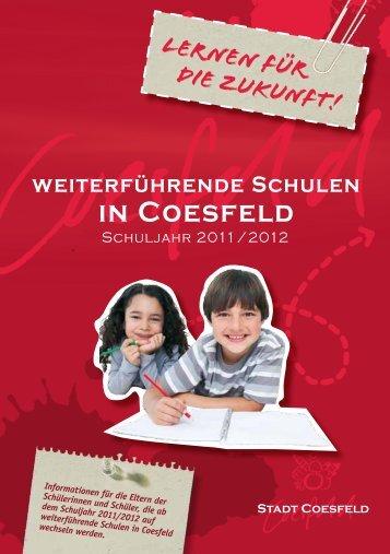 Das Gymnasium - Stadt Coesfeld
