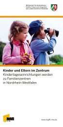 Kinder und Eltern im Zentrum - Familienzentrum NRW