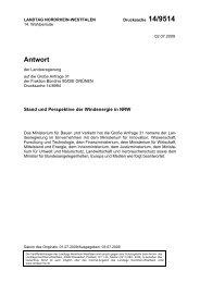 Antwort - Bund für Umwelt und Naturschutz Deutschland ...