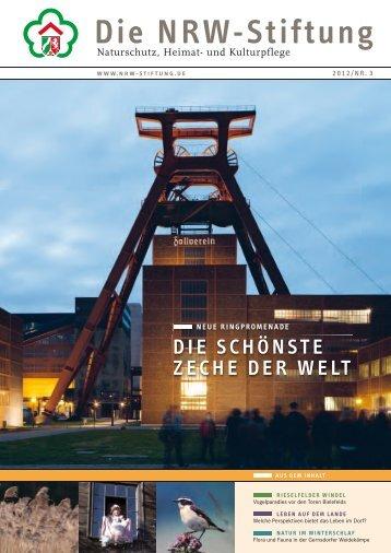 Die schönsTe Zeche Der WelT - NRW-Stiftung