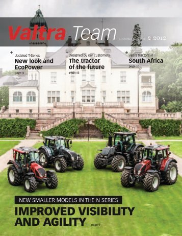 (DOC) and an exhaust gas recirculation (EGR) - Valtra