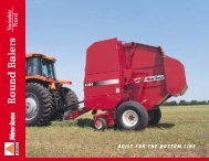 Series 4800 Fixed-Chamber Balers - New Idea - AGCO