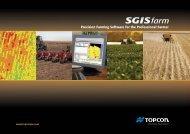 SGISfarm - Topcon Precision Agriculture - Topcon Positioning Systems