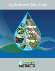 Ag Solutions - Jain Irrigation, Inc.