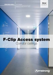 F-Clip Access system - Armstrong