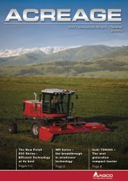 AGCO news across the land | Summer 2011/12 The New ... - Valtra