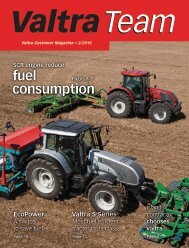 fuel consumption of the Valtra - MTC Tractor Co.