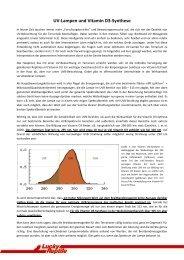 UV-Lampen und Vitamin D3-Synthese - Megazoo
