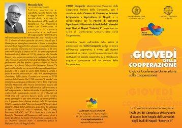 iGIOVEDÌ iGIOVEDÌ - Associazione Generale Cooperative Italiane
