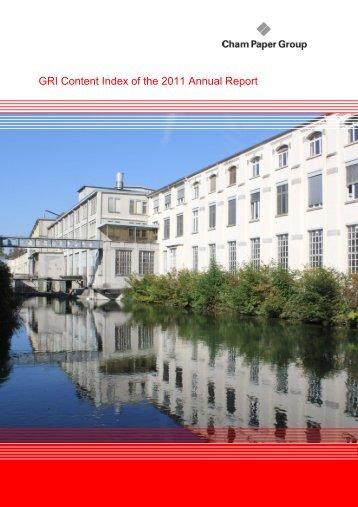 ewb Annual Report 2006: GRI Content Index
