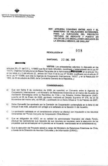 enlace - Agencia de Cooperación Internacional, AGCI