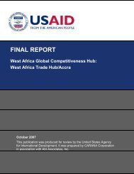 West Africa Trade Hub/Accra - usaid