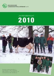 20 jahre - Sächsischer Landeskontrollverband eV