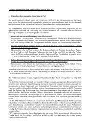 Ergebnis der Sitzung des Gemeinderates vom 15. Mai 2012 ... - Perl