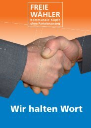 Unsere Kandidaten - Ihre Stimmen für Giengen / Hermaringen.
