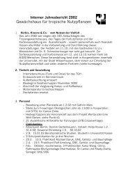 Interner Jahresbericht 2002 - Universität Kassel