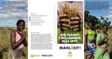 Allgemeiner Flyer - Oxfam