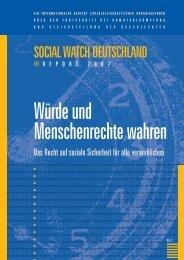 Social Watch 2007.qxd - Nord-Süd-Netz