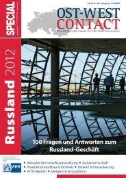 100 Fragen und Antworten zum Russland-Geschäft
