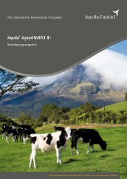 Aquila® AgrarINVEST III - Dirk Naumann