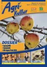 Agrarpolitik • Gentechnik • BIO-Agrar-Prais 2010 - Demeter Luxemburg