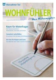 Raum für Mieterfragen - Wohnungsgenossenschaft Marzahner Tor eG