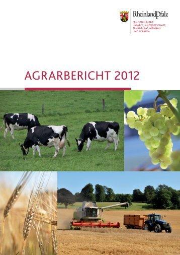 Agrarbericht Innenteil - Ministerium für Umwelt, Landwirtschaft ...