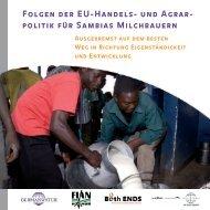Folgen der EU-Handels- und Agrarpolitik für ... - Germanwatch
