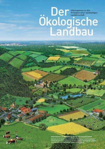 Informationen zu den Prinzipien einer nachhaltigen Landwirtschaft