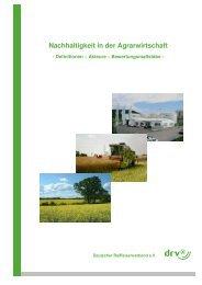 Nachhaltigkeit in der Agrarwirtschaft - Raiffeisen Kassel