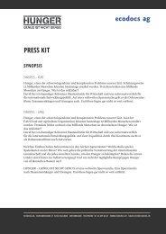 press kit - ecodocs ag