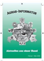 VLF - Amt für Ernährung, Landwirtschaft und Forsten Weilheim i.OB ...