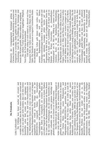 Leserp reis Bewerb 1 / 2011 - Lyrikfreunde