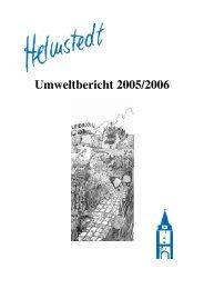 Natur des Jahres 1989 - Stadt Helmstedt