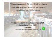 Microsoft PowerPoint - Pr\344sentation Landsberger Praxistag 2011 ...