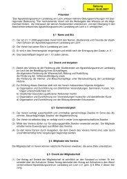 VELAS Satzung 02_2007 - Agrarbildungszentrum Landsberg am Lech