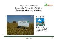regionalen Fütterung - Agrarbildungszentrum Landsberg am Lech