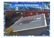 Solarzelle - Agrarbildungszentrum Landsberg am Lech