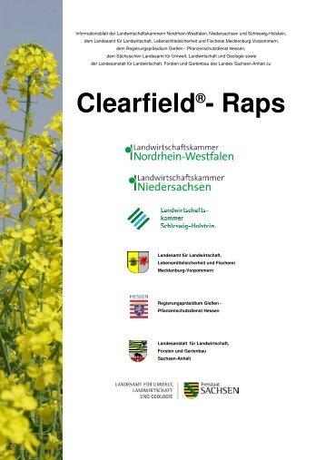 Clearfield®- Raps - Landwirtschaftskammer Nordrhein-Westfalen