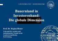 Folien Birner - Bayerische Akademie Ländlicher Raum